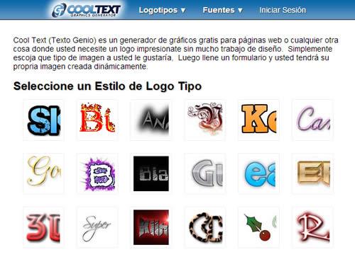 5 sitios web gratis para el diseno de logotipos for Aplicacion diseno de interiores gratis