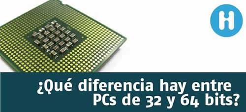 32 o 64 bits?? Análisis y diferencias