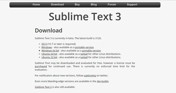 how to write php in sublime text