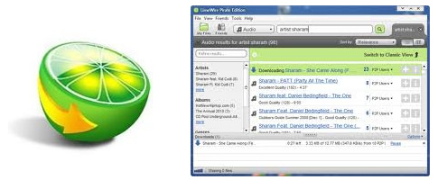 Limewire Pirate Edition - Programas para descargar musica gratis