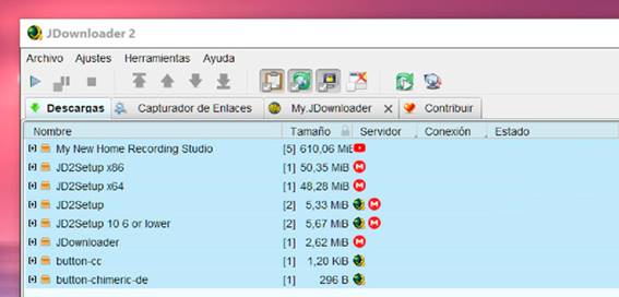 descargar jdownloader 2 gratis sin virus