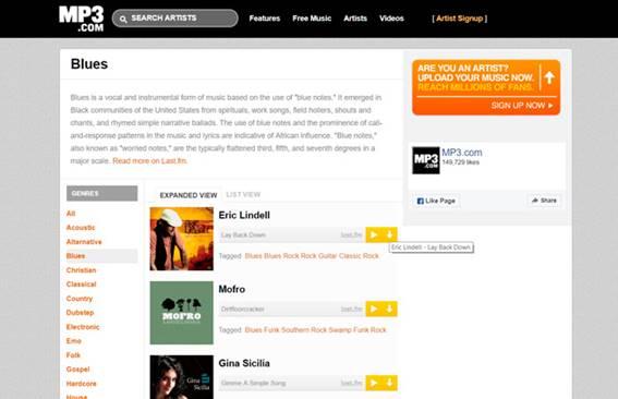 Descargar Música Gratis Mp3 Sin Programas Servicios Informáticos