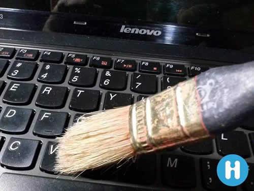 Como limpiar el teclado de la PC o portátil