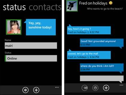 Messenger para Windows Phone