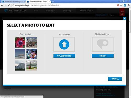 Adobe Photoshop Express Gratis