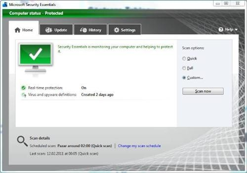 Security Essentials: el antivirus gratuito de Microsoft