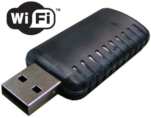 Tipos de dongle: Wi-Fi