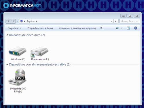 Formato de disco rígido en Windows