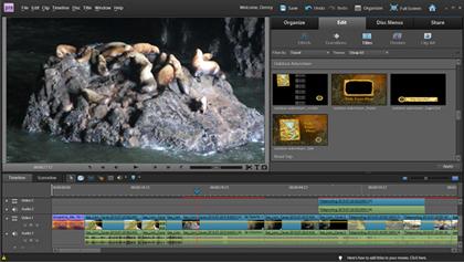 Programa de montaje de video y fotos