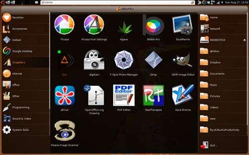 Ubuntu Remix: Edición para Netbooks