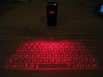 VBK Bluetooth Láser Virtual Keyboard
