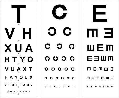 color vision test chart pdf
