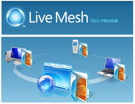 Sincronizar archivos con Windows Live Mesh