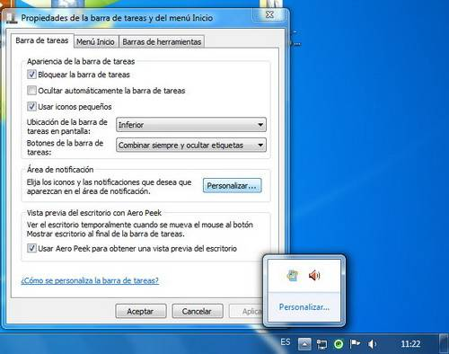 Trucos para el escritorio de Windows 7