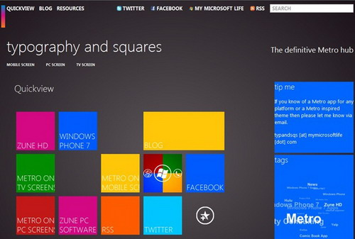 Metro UI La interfaz grafica de Windows 8 para tablets