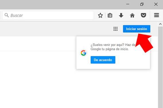 como iniciar sesion en google