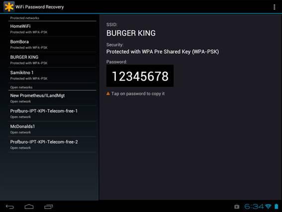 App para recuperar contraseña wifi iphone