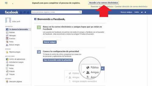 Como crear una cuenta en Facebook paso a paso