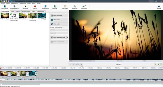 crear video con fotos