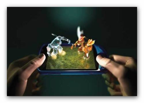 Celulares con pantallas 3d for Imagenes 3d para movil