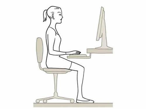 Como mantener una buena postura frente a la computadora for Sillas para una buena postura