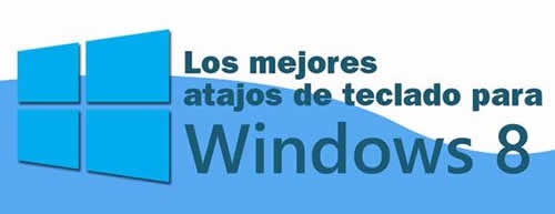 Atajos de teclado para Windows 8