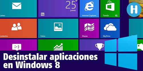 Desinstalar programas en Windows 8